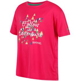 Regatta Alvarado III t-shirt Kinderen roze